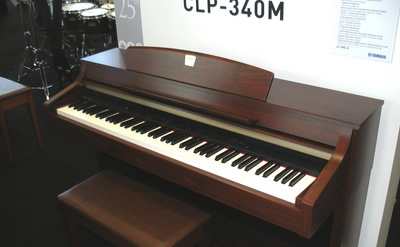 Yamaha clavinova clp 340 370 review for Yamaha clavinova dealers