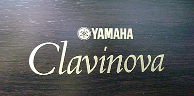 Yamaha Clavinova name on back of CLP and CVP models.