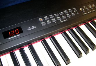 Yamaha CP33 panel buttons