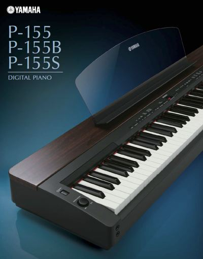 Yamaha P155 Shown
